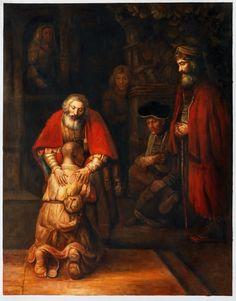 Rembrandt, Terugkeer van de verloren zoon.