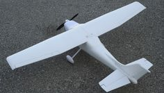 """AirField SkyTrainer - 55.5"""" RC Airplane KIT (No Decal)"""