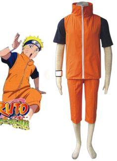 Naruto Shippuden Uzumaki Naruto Adult Cosplay Costume