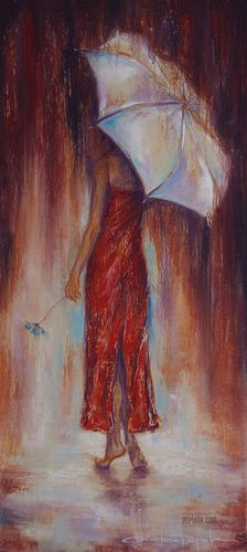 Alexandrina Karajova ~ GIRL IN A RED DRESS ~ Наслада