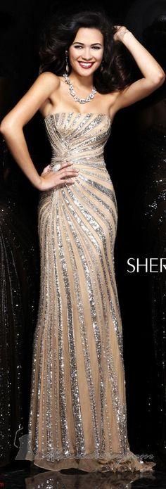 Sherri Hill couture ~ http://www.wedding-dressuk.co.uk/evening-dresses-uk63_11
