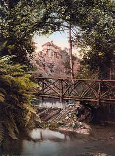 Groudle Glen and Hotel, Isle of Man, England, between 1890 and 1900