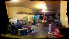 No more garage...