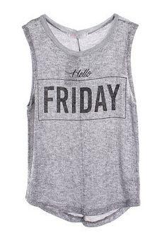 Hello Friday Tank #SMBFAVES