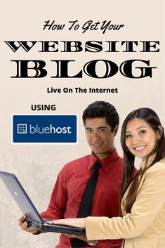 How To Get Your Website Blog Live On The Internet Using Bluehost