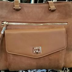 Spartina Brown suede and leather/Excellent condition Spartina Bags Shoulder Bags