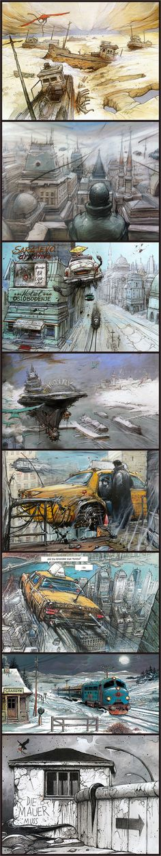 Enki Bilal - Heavy Metal