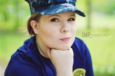 This beautiful girl will be wearing this eight-point cover as an Active Duty Sailor today. First day of bootcamp and then on to language school for a long time. Amazingly proud of her.