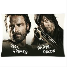 Rick Grimes Daryl Dixon The Walking Dead 20'' x by CornucopiaStore, $24.99 That is exciting ;)