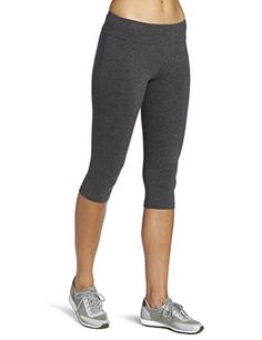 ec67e52ac8 Ladyhers Women's Audel Cotton Yoga Capris Pants Tummy Control Workout  Running Leggings 4 Way Stretch * To view further for this item, visit the  image link.