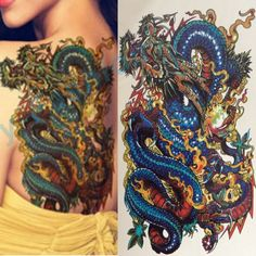 Motivated Waterproof Temporary Tattoo Sticker Roaring Lion Skull Rose Clock Arm Large Fake Tatto Flash Tatoo Sleeve Tattoos For Men Women Fine Workmanship Beauty & Health Temporary Tattoos