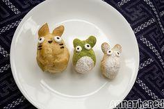 how to make Totoro cream puffs
