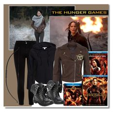 """""""Hunger Games Style"""" by dora04 ❤ liked on Polyvore featuring River Island, NLY Trend, Miss Selfridge, Hungergames and contestentry"""