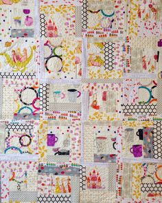 quilt-as-you-go made modern by Jera Brandvig