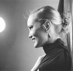 Jessica Lange, 1975.