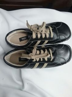 Womens leather upper lace up gumshoe | Mossimo | Size 8 | Used #Mossimo #LaceUps