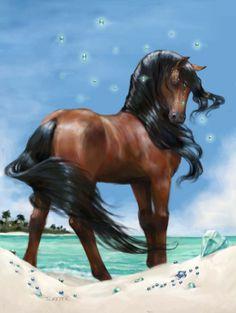 Jewel #BellaSara #island #horse  by JLMeyer