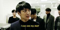 """"""" yoyo was so happy to see his dad ヾ(^▽^ヾ) """""""