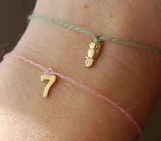 Lucky Number Thread by EarlyBright $5.00 --- These are super cute!! I want #7!