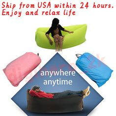 Sensible Fast Inflatable Lazy Bag Air Sleeping Bag Outdoor Inflatable Sofa Portable Beach Inflatable Sofa Camping Air Sofa New As Effectively As A Fairy Does Camping & Hiking