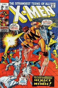 Cover for The X-Men (Marvel, 1963 series) #69