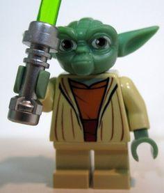 Lego Star Wars The Clone Wars Lego 7964 Yoda Jedi Mini Figure Mint | eBay