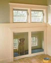 built in dog kennel under stairs - Google Search