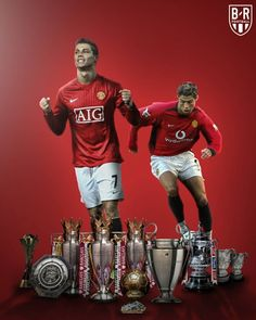 On this day in 2003 Manchester United signed Cristiano Ronaldo. Cristiano Ronaldo Cr7, Cristiano Ronaldo Trophies, Cristiano Ronaldo Manchester, Cristino Ronaldo, Ronaldo Football, Manchester United Poster, Manchester United Old Trafford, Manchester United Legends, Funchal