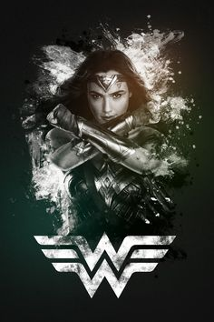"""►► DESCRIPTION:Custom artwork of the main character from the extraordinary movie """"WONDER WOMAN"""" starring Gal Gadot►► FILE dimensions and details:This poster Wonder Woman Art, Wonder Woman Pictures, Gal Gadot Wonder Woman, Wonder Woman Movie, Wonder Women, Marvel Heroes, Marvel Dc, Dc Comics Poster, Women Poster"""