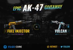 Win cool AK-47 CSGO skins