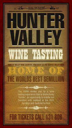 hunter valley wine tasting. wine country, nsw, australia