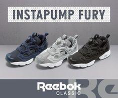 INSTAPUMP FURY Reebok CLASSICのバナーデザイン