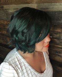 Pin for Later: 20 Photos That Prove Emerald Hair Is Edgy Yet Wearable