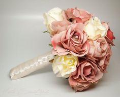Wedding Bouquet Blush Pink Rose Wedding Bouquet