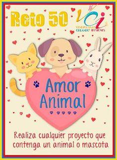 MAYO DETALLES  Y MANUALIDADES: Reto 50: Amor Animal