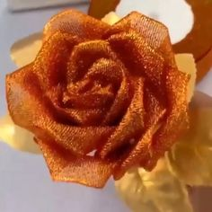 # The post Rose aus Band appeared first on DIY Projekte. Paper Flowers Craft, Flower Crafts, Diy Flowers, Fabric Flowers, Rose Crafts, Flower Diy, Paper Roses, Flower Making, Ribbon Art