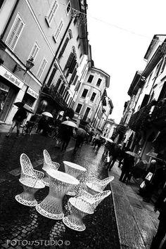 Rainy day in Cremona - Italy