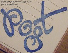 Post door Loes - kopie by fourchet, via Flickr