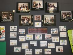 word wall - middle school