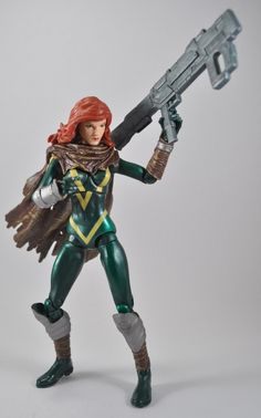 Hope Summers Marvel Legends Wave 1 http://www.actionfigurefury.com/reviews/marvel-legends-wave-1-hope-summers-action-figure-review/