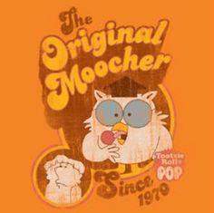 Tootsie Pop Moocher on Orange T-Shirt