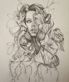 This sketch is amazing By @amelia_souva #worldofartists My collection of cool/interesting/inspirational artwork and photography from net