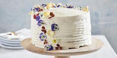 Enkel ostekake med jordbær og sjokolade   Coop Mega Crinkle Cookies, Crinkles, Vanilla Cake, Mousse, Gluten, Sweet, Desserts, Food, Caramel