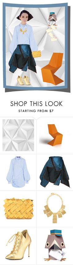 """Origami Style"" by anna17682 on Polyvore featuring moda, Mr Perswall, Vondom, Jacquemus, Gyunel, Clemsa, Kenneth Jay Lane, Giuseppe Zanotti e Mibo"