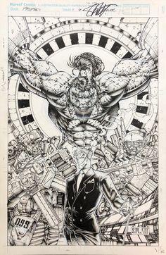 Comic Book Artists, Comic Books Art, Image Comics, Comic Page, Marvel Comics, Character Art, Cool Art, Art Gallery, Sketches