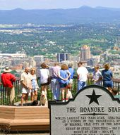 Roanoke, VA, home of my sister and city where I attended Lewis-Gale School of Nursing in the early 60s.