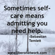 Admitting you need help #LiberoNetwork #recovery