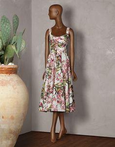 Dolce&Gabbana|F6KQ1T-FS5O4|Robes mi-longues|Robes