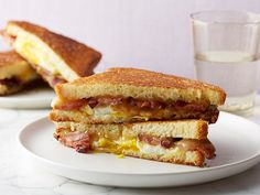 Get this all-star, easy-to-follow Bacon, Egg and Maple Grilled Cheese recipe from Food Network Kitchen