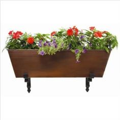 Love flower boxes.